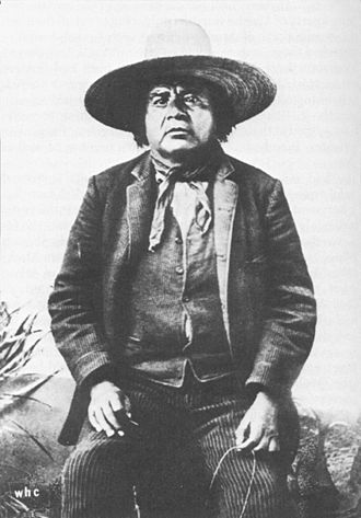 San Carlos Apache Indian Reservation - Eskiminzin, an Aravaipa Apache chief