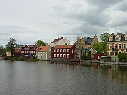 sông Eskilstuna và Gamla Stan (Phổ Cổ)