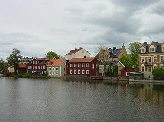 Eskilstunaån - Image: Eskistunaån Eskilstuna