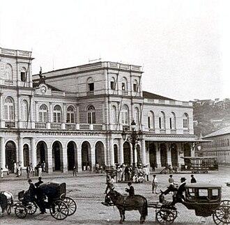 Central do Brasil - The station in 1899.