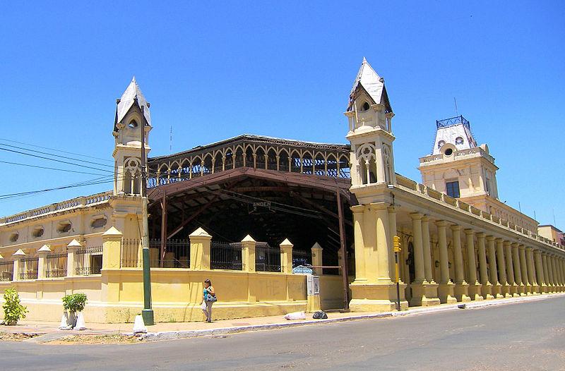 Ficheiro:Estación Central del Ferrocarril en Asunción by ...