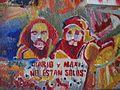 Estación Darío y Maxi - graffiti de nuestros muchachos.JPG