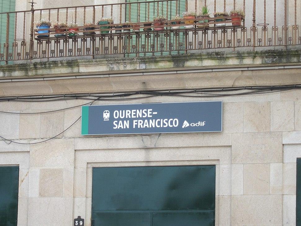 Estación de Orense-San Francisco