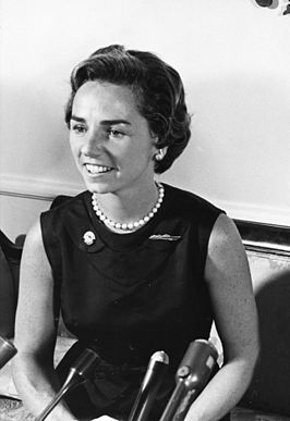 Ethel Kennedy in 1968