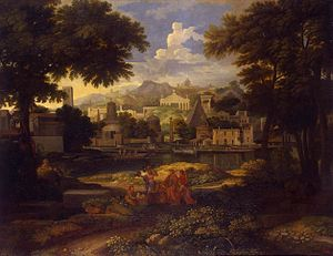 Landscape with Moses Saved from the Nile