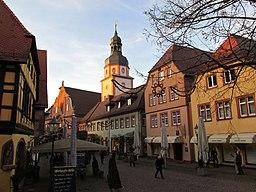 Kirchenplatz in Ettlingen