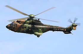 Image illustrative de l'article Aerospatiale AS532 Cougar