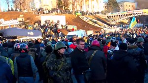 File:Euromaidan - Berkut is coming.webm