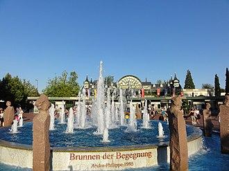 Europa-Park - The entrance to Europa-Park.