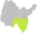 Evosges (Ain) dans son Arrondissement.png