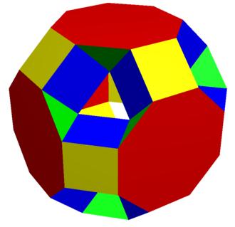 Truncated cuboctahedron - Image: Excavated truncated cuboctahedron 3