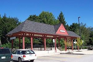 Exeter station (New Hampshire) - Image: Exeter New Hampshire Amtrak station