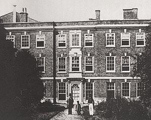 Samuel Ward (taster) - Exeter House
