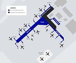 helsinki airport terminal 2 map Helsinki Airport Wikipedia helsinki airport terminal 2 map