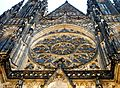 Exterior of St. Vitus Cathedral Prague 5.JPG