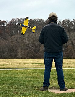 Radio-controlled aircraft Aircraft controlled remotely via radio control