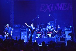 Exumer beim Wacken Open Air 2015