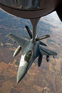 F-16 refuelling, Exercise Green Flag East - 081201-F-3071N-235