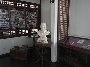 F. Sionil José - F. Sionil José Bust monument (Rosales, Pangasinan Presidencia).