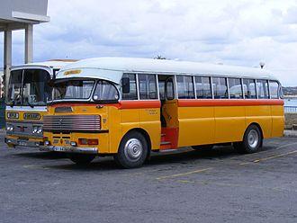 Birżebbuġa - Malta bus in Birżebbuġa