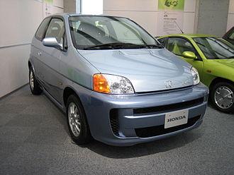 Honda FCX - HONDA FCX (first delivered model), in 2002
