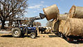 FEMA - 38644 - Cattle displaced by Hurricane Ike get fresh hay.jpg