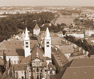 St. George's Basilica, Prague - Image: FF bazilika sv jiri 3888