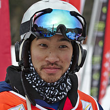 FIS Moguls World Cup 2015 Finals - Megève - 20150315 - Sho Kashima 1.jpg