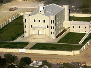 Temple of the FLDS in El Dorado, Texas