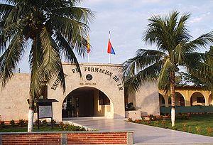 Colombian Naval Infantry - Base de Entrenamiento de Infantería de Marina, in Coveñas.