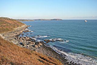 Falmouth Bay bay in the United Kingdom