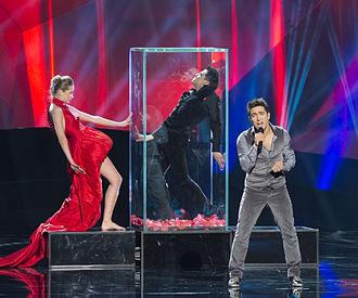 Farid Mammadov - Farid Mammadov at Eurovision 2013