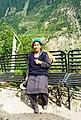 Farm worker wearing traditional Kinnaur cap.jpg