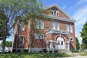 Farmersville, Ohio - Masonic temple