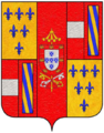 Farnese coat of arms as Duke of Parma.png