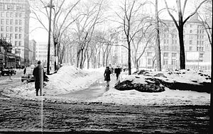 Victoria Square, Montreal - Victoria Square, 1943