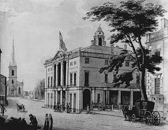 8th New York State Legislature - Image: Federal Hall Archibald Robertson