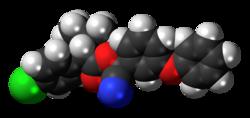 Fenvalerate-molekulo