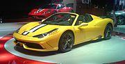 Ferrari 458 Speciale A 01 Mondial de l'Automobile 2014-10-14.jpg