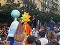 Festa Major de Gràcia 2011 - Gresca i Torradet - gegantons de Gràcia - XIII cercavila de cultura popular - carrer Gran P1330064.jpg