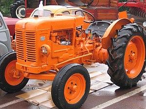 Fiat Trattori - Fiat 25R tractor.