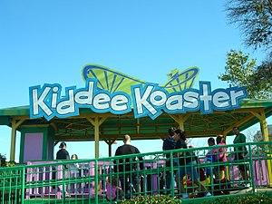 Kiddee Koaster - Image: Fiesta Texas Kiddee Koaster