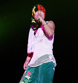 Shōnan no Kaze - Han-kun of Shōnan no Kaze performing at the Hibiki Music Festival 2009.