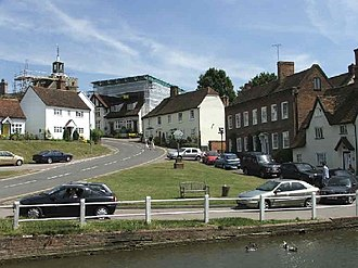 Essex - The village of Finchingfield in north Essex