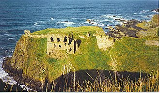 James Ogilvy, 7th Earl of Findlater - Findlater Castle, ancestral seat of the Earls of Findlater.