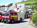 Fire appliances, Croyde - geograph.org.uk - 1474795.jpg