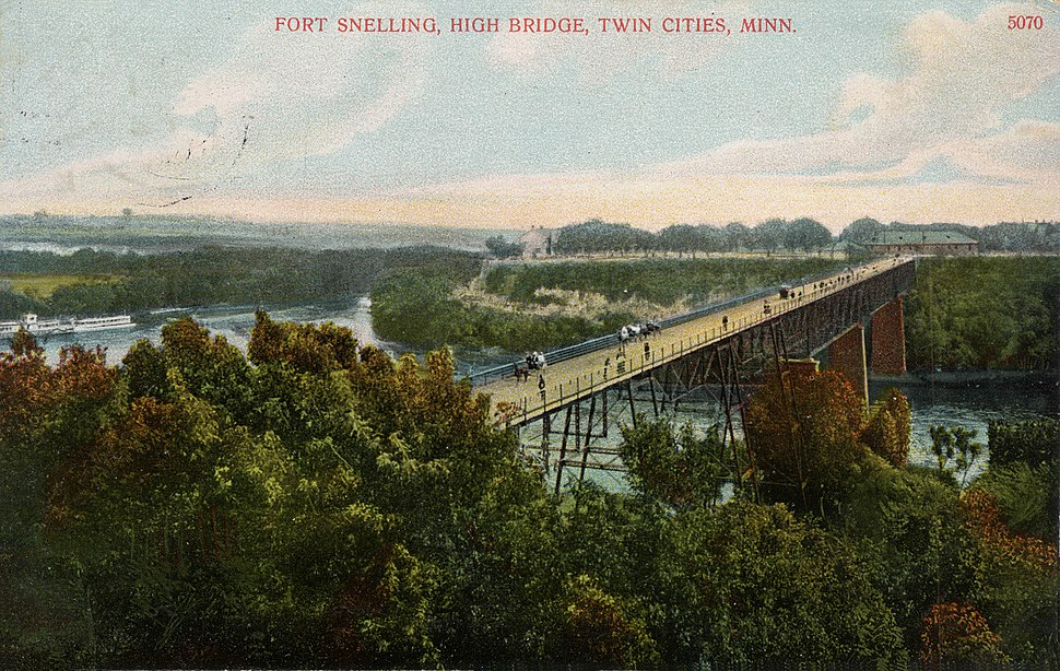 First Fort Snelling Bridge