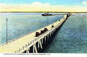 Gandy Bridge - The original span of Gandy Bridge