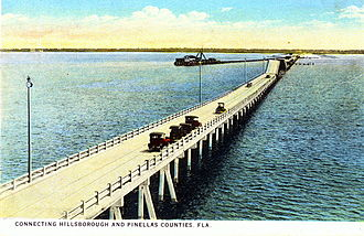 Pinellas County, Florida - The original span of the Gandy Bridge