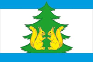 Lensky District, Arkhangelsk Oblast - Image: Flag of Lensky rayon (Arkhangelsk oblast)